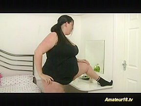 Resigned chunky gymnast honey receives drilled hard and ejaculation