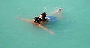big beautiful woman got screwed in the sea
