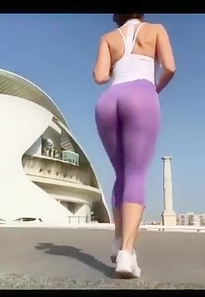 Sexiest ass spandex tumblr...
