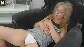 Aged mother masturbating watching xHamster