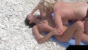 Busty teen malina may fucked with extasi beach...