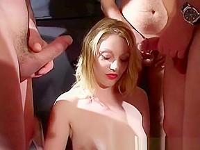 British pornstar shay hendrix sucks cock bukkake...