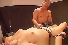 Manly cunt electro tortured...