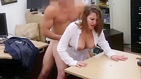 Amateur business lady fucked by pawn man...