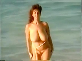 Daniels nude about the seaside...