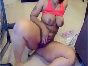 Dark skinned boobs her mass...