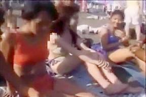 Mina kozina asian doll has beach...