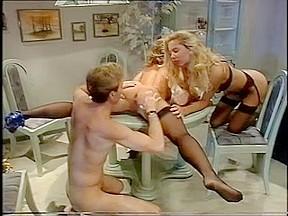 Retro sluts and their men classic orgy...