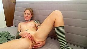 Double orgasm pussy fuck ass fuck masturbation...