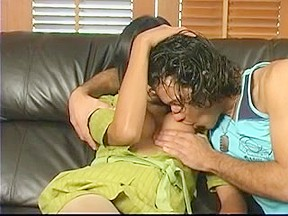Extrime pantyhose gets her ass stuffing...