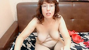 Pale pussy spread...