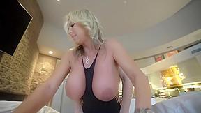 Milking table wife milks long slutty nails...