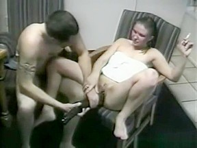 Amateur threesome american roadtrio super geil...