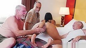 Brunette edging blowjob brutal orgy xxx staycation latin...