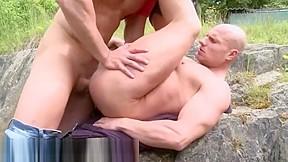 Outdoor men naked vids hot nude guys on...