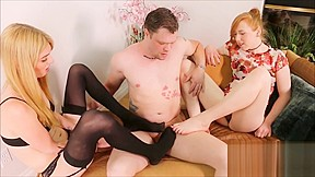Cock sucking ass eating and feet with best...