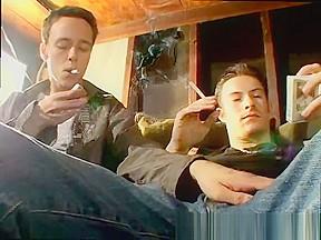 Masons twinks kissing xxx garage smoke orgy...