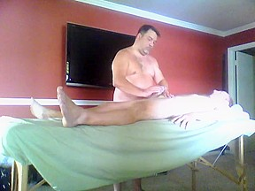 First time massage primer masaje a...