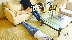 Chinese girls bottom...