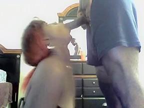 Drunk ebony getting dicked down hard...