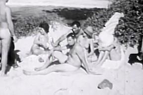 Vintage nudism clips...