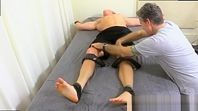Boy feet movies muscle leg squeeze 63...