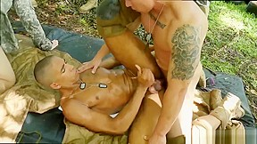 Image nude men military gay jungle pulverize fest...
