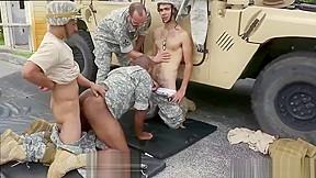 Thick dicked navy masturbating naked military gey mens...