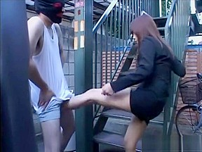 Ballbusting japan girl kicks and knees...