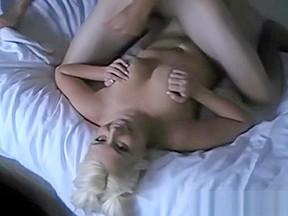 Cute busty blonde amateur films...