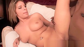 Ebony chick gets some cock...