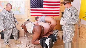 Quick military gay today...