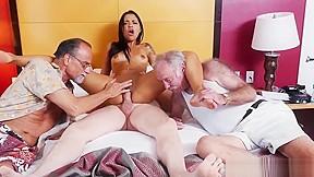 Hardcore men hotel woman young...