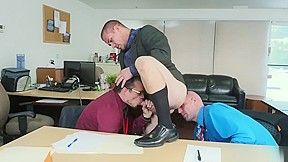 Straight guy bent over anal gay...