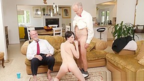 3 old and young man handjob cumshot young...