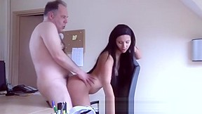 Old guys fuck friends daughters men licking...