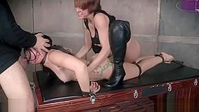 Pmv big ass girl dominated by couple bondage...