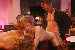 Intercourse With A Vampire Turns To A Bloody Double Penetrat