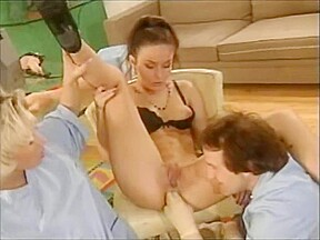 Doctor licking patient pussy her...