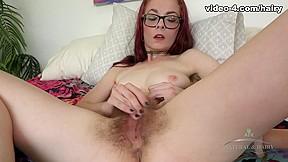 Ivy Addams in Masturbation Movie - ATKHairy