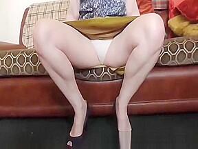 Upskirt White