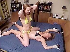 Lux tickle tortures monique...