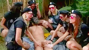 Police trannies forest...