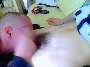 Leon McManus Str8 Mate 1St Ever BJ off His Homosexual Lad