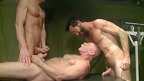 Tastes his sons cumloads...