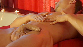 Hot self massage for your body...