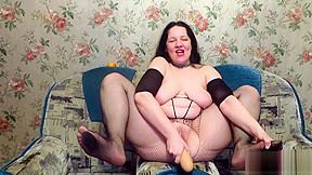 A huge dildo...