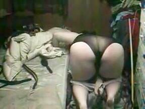 Chubby masturbates while hidden cam films...