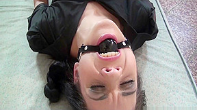 Corazon bound gagged stripped slapped vibed...