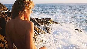 In seashore beauty playboyplus...